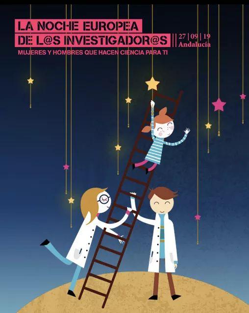 La Noche de los Investigadores, Viernes 27 de Septiembre de 2019 (Cádiz)