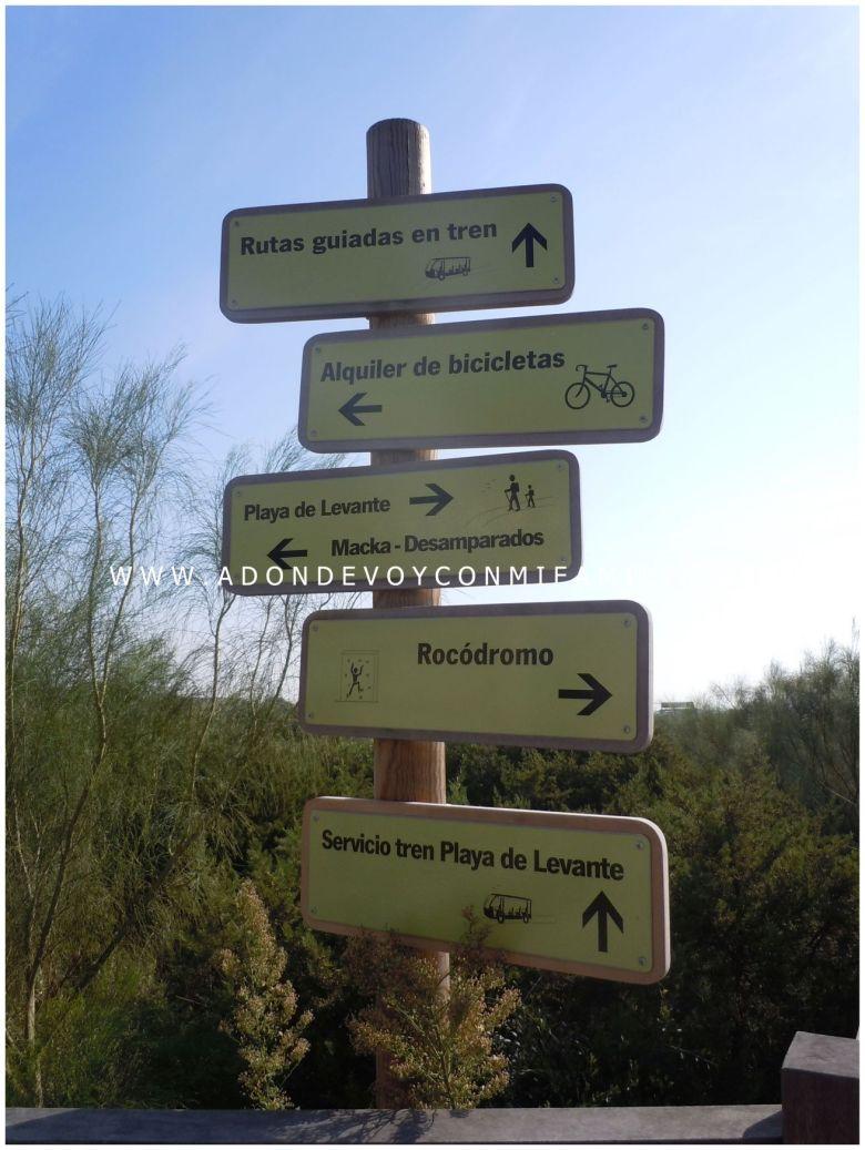 señalizacion los toruños adondevoyconmifamilia