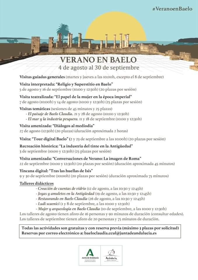 BAELO CLAUDIA VERANO 2020 (TARIFA)