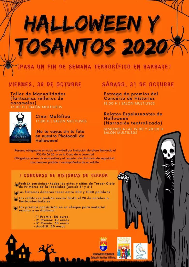 halloween y tosantos barbate 2020