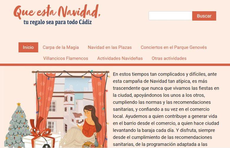 navidad cadiz 2020 cartel2 adondevoyconmifamilia