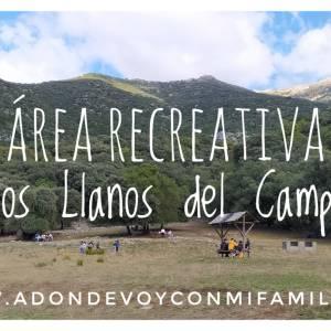 area recreativa los llanos del campo adondevoyconmifamilia portada