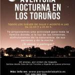 aventura nocturna toruños verano 2021