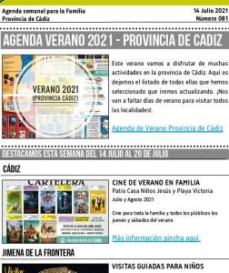 081 210714 Agenda Familiar 14 julio 2021 Adondevoyconmifamilia portada