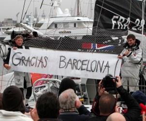 BARCELONA WORLD RACE - Neutrogena - Boris Herrmann (GER) / Ryan Breymaier (USA)