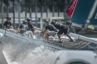Monotype VX40 Extreme Sailing Series 2015 Singapour Lloyd Images 613