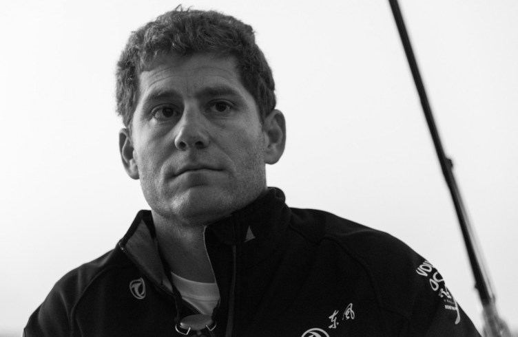 2014-15, onboard, OBR, Volvo Ocean Race, VOR, Dongfeng Race Team, Leg3, B&W, Charles Caudrelier, skipper