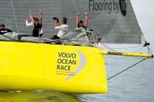 Volvo Ocean Race, VOR, 2014-15, Inport, Itajai, Team Brunel, winners