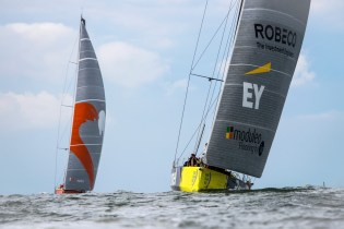 2014-15, VO65, VOR, Volvo Ocean Race, sailing, rib, Itajai, Brazil, In-Port, inport, Team Alvimedica, Team Brunel