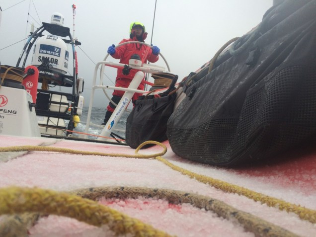 Volvo Ocean Race, itajai, 2014-15, Leg 5, arrivals, onboard, Dongfeng Race Team