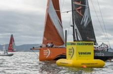 2014-15, VOR, Volvo Ocean Race, Itajai, Brazil, Start, Team Alvimedica