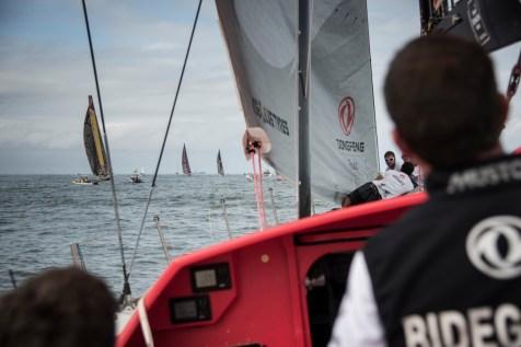 2014-15, Dongfeng Race Team, Leg6, OBR, VOR, Volvo Ocean Race, onboard, fleet