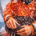 2014-15, Leg6, OBR, ONBOARD, TEAM ALVIMEDICA, VOR, Volvo Ocean Race, Dave Swete, splash, hands