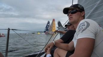 Volvo Ocean Race, VOR, 2014-15, onboard, OBR, Leg6, Team Brunel, Rokas Milevicius, Gerd-Jan Poortman