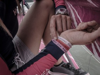 2014-15, Leg6, OBR, Team SCA, VOR, Volvo Ocean Race, onboard, ribbons, gift