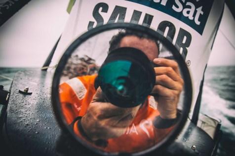 2014-15, Leg7, ONBOARD, TEAM ALVIMEDICA, VOR, Volvo Ocean Race, Amory Ross, reflection, stern cam