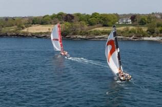 2014-15, VOR, Volvo Ocean Race, Race, Leg 7, Start, Newport, USA, MAPFRE, Team Alvimedica.