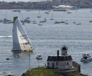 2014-15, VOR, Volvo Ocean Race, Race, Leg 7, Start, Newport, USA, Team Brunel