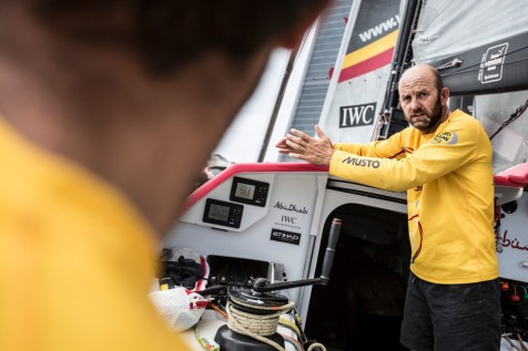 2014-15, Abu Dhabi Ocean Racing, Leg6, OBR, VOR, Volvo Ocean Race, onboard, Musto, Ian Walker, IWC