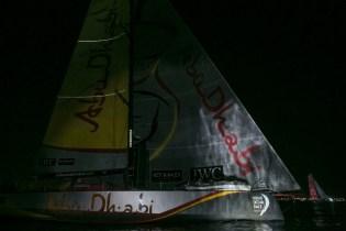 VOR, Volvo Ocean Race, 2014-15, Newport, arrivals, Abu Dhabi Ocean Racing, Dongfeng Race Team