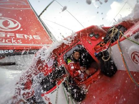 2014-15, Dongfeng Race Team, GoPro, Hero4, Leg6, OBR, VOR, Volvo Ocean Race, onboard, splash