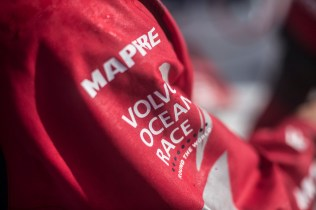 2014 - 15, Leg6, MAPFRE, OBR, VOR, Volvo Ocean Race, onboard, close up, Logo
