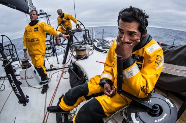 2014-15, Abu Dhabi Ocean Racing, Leg7, VOR, Volvo Ocean Race, onboard, Adil Khalid, trim