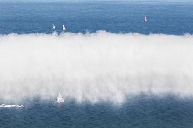 2014-15, Newport, USA, Volvo Ocean Race, start day