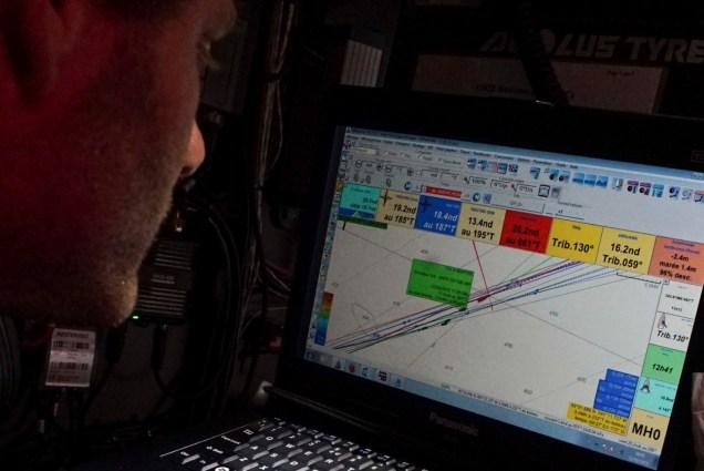 2014-15, Dongfeng Race Team, Leg7, OBR, VOR, Volvo Ocean Race, onboard, Charles Caudrelier, AIS, down below, nav, navigation desk