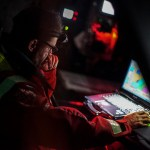2014-15, Dongfeng Race Team, Leg7, OBR, VOR, Volvo Ocean Race, onboard, Pascal Bidegorry, Navigation desk, nav, down below