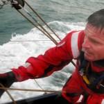 Volvo Ocean Race, 2008-2009, Ericsson 4, Sidney Gavignet, Watch Captain, Onboard, Leg 1