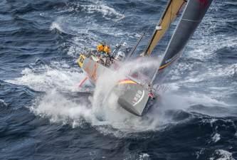 2014-15, Abu Dhabi Ocean Racing, Costa da Morte, Leg8, VOR, Volvo Ocean Race, aerial, sortie