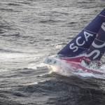 2014-15, Costa da Morte, Galicia, Leg8, Team SCA, Volvo Ocean Race, aerial, sortie