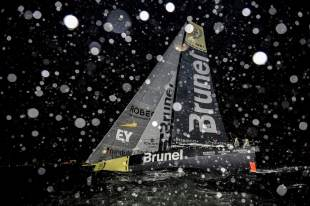 2014-15, VOR, Volvo Ocean Race, Team Alvimedica, Crowd, night, Team Brunel