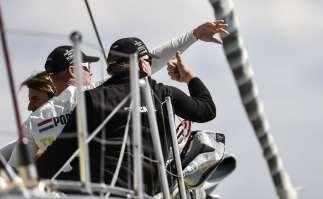 2014-15, VOR, Volvo Ocean Race, Gothenburg, Leg9, Arrivals, Team Brunel