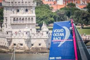 2014-15, Leg7, Lisbon, Stopover, VOR, Volvo Ocean Race, Team SCA, Liz Wardley, mast