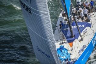 2014-15, VOR, Volvo Ocean Race, Lisbon, InPort, aerial