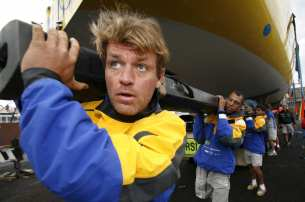Knut Frostad, Volvo Ocean Race, 2005-2006, Mast, Crew, Brasil 1, Melbourne, Damage, Repair