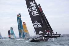 Multihull, Istanbul, Turkey, Act 7, Stadium Sailing, The Extreme Sailing Series, Stevie Morrison, Nic Asher, Ed Powys, Ted Hackney, Ali Al Balushi