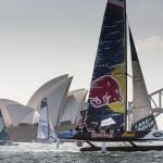 The Extreme Sailing Series 2015, Sydney, Austrailia, Sydney Harbour, Sydney Opera House, Multihull, Catamaran, Sailing, Yacht Racing, Act 8, Day 1
