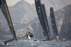 GC32, Foiling Catamaran, Muscat, Oman, The Extreme Sailing Series, Mutrah