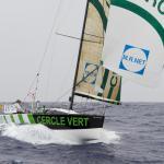 CERCLE VERT, CHARLIE DALIN, GILDAS MORVAN, OCEAN ALCHIMIST, TRANSAT AG2R-LA MONDIALE 2012