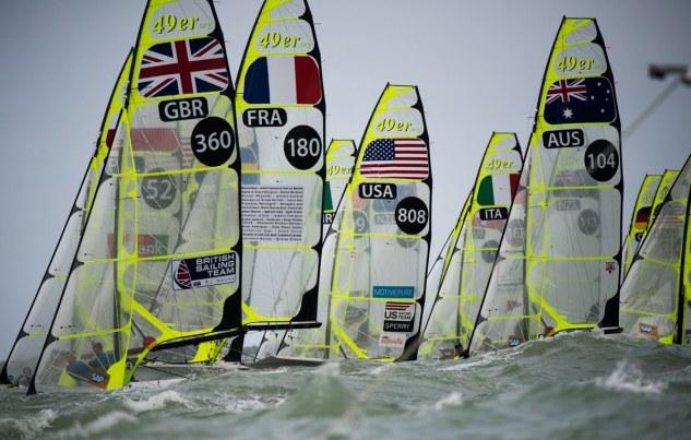 49er, 49erFX, Clearwater, Florida, Olympic, World Championships, athletes, nacra17, sailing