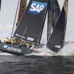 The Extreme Sailing Series 2016, Multihull, GC32, Cardiff, Act3, Foiling Catamaran, Land Rover BAR Academy