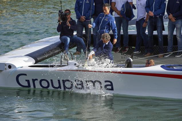 © Yvan Zedda/Groupama Team France