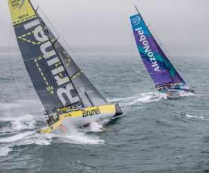 2017-18, Aerial, AkzoNobel, Around the Island Race, Commercial, Gosport, Helicopter, Inmarsat, Kind of picture, Leg Zero, On board, On-board, Pre-race, Race Partners, Rough weather, Team Brunel