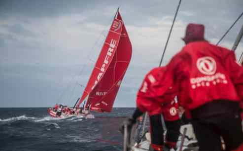 2017-18, Action, Dongfeng, Kind of picture, Leg Zero, MAPFRE, On board, On-board, Pre-race, Rolex Fastnet Race, boat to boat