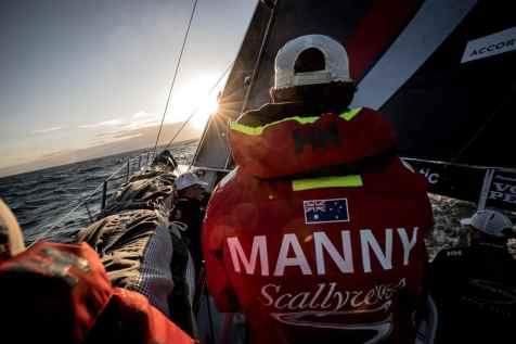 2017-18, David Mann, Leg Zero, Manny, Nature, On board, On-board, Pre-race, Rolex Fastnet Race, Sunset, Team Sun Hung Kai/Scallywag, Trimmer