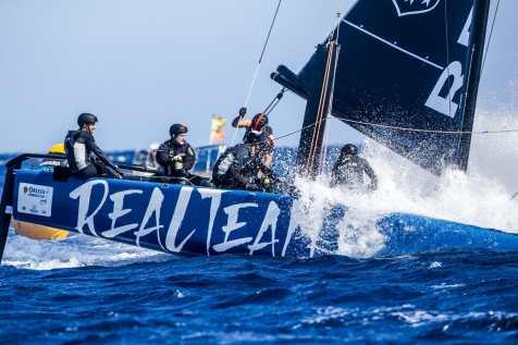 Calvi, Corsica, Extreme sailing, Fastest boats, GC32, GC32 Orezza Corsica Cup, GC32 Racing Tour, REALTEAM, catamaran, foiling, foiling catamaran, one design yacht, sailing, speed, yachting