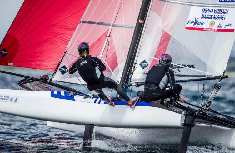 Aarhus, Aarhus Sailing Week, Classes, FRA 285 Moana Vaireaux Manon Audinet, Nacra 17, olympic classes, olympic sailing